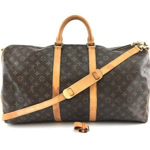 Louis Vuitton Keepall Bandouliere 55 with Strap
